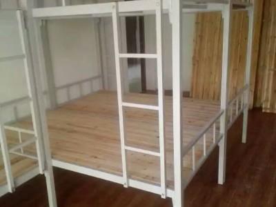 广西批发上下铺铁架床 单层铁架床 小学生铁架床厂家