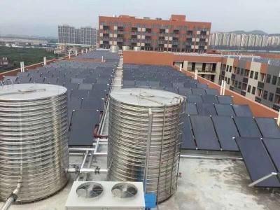 广西酒店空气源 太阳能 空气能 热水工程解决方案