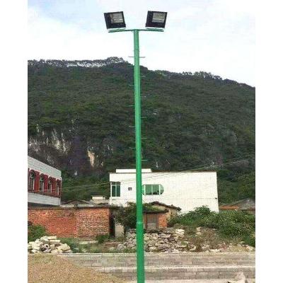 靖西户外球场灯杆 爬梯球场灯杆 篮球场球场灯杆供应厂家
