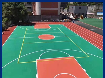 丙烯酸球场 运动场塑胶跑道 丙烯酸室内球场 丙烯酸球场厂家