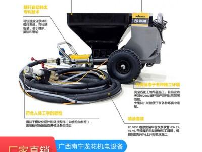瓦格纳尔PlastCoat 1030 E 重型喷涂施工的大功率螺杆泵喷涂机
