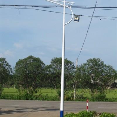 广西河池农村太阳灯杆 6米太阳能灯杆