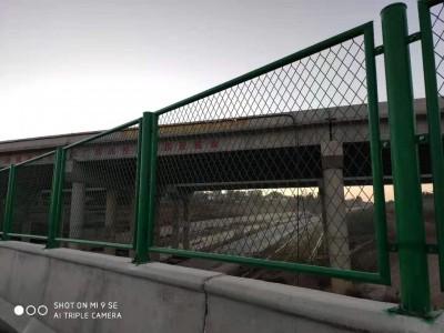 南宁厂家销售桥梁防抛网 桥梁隔离网 喷塑桥梁防抛网