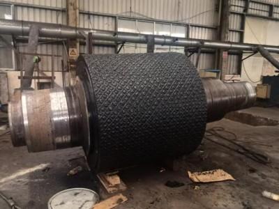 辊压机辊面堆焊 利君辊压机高碳复合辊辊面堆焊修复