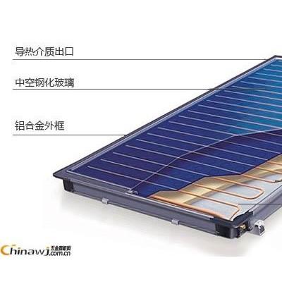 桂林热水工程报价  桂林太阳能热水器 太阳能平板集热器