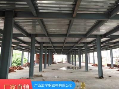 南宁钢结构制作 钢筋加工棚 钢结构工程厂家