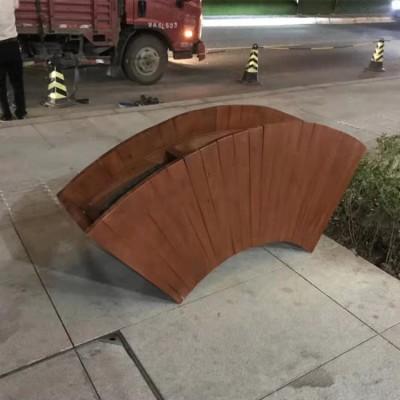 南宁公园椅 公园椅 找现代花盆 公园椅美化道路建设