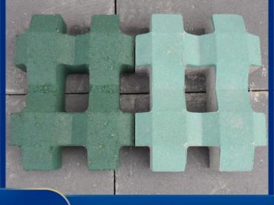 柳州植草砖 停车场绿化8字植草砖 生态植草砖  厂家直销