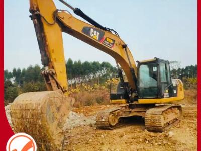 广东二手挖掘机 挖掘机供应 卡特彼勒挖掘机 挖机价格