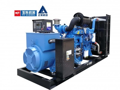 玉柴 500KW柴油发电机组  工厂直供