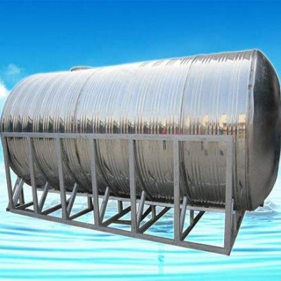 定制不锈钢水箱 家用储水箱 屋顶不保温水箱水塔 3吨储水箱