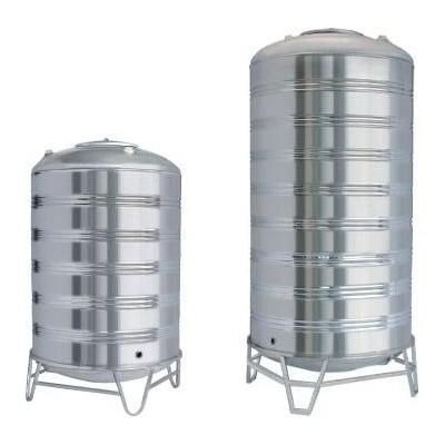 定制不锈钢水箱 家用储水箱 屋顶不保温水箱水塔 20吨大量储水箱