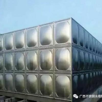 组水方式储水箱 不锈钢水箱一体化预制泵站,一体化污水提升泵站