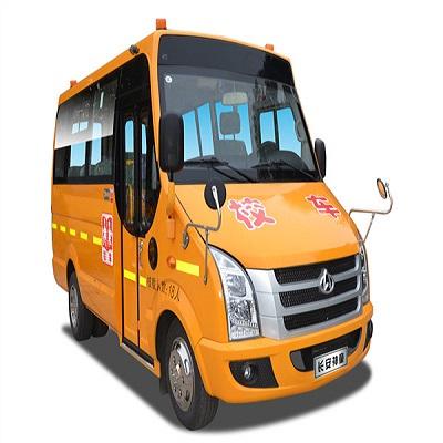 桂林19座校车图片 校车厂家直销 长安SC6515XC1G5幼儿园校车价格