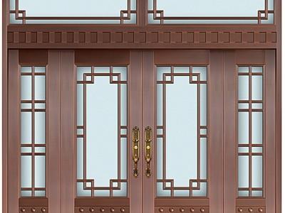 玻璃铜门 花园铜门 直销别墅铜门 铜门价格 专业厂家订做
