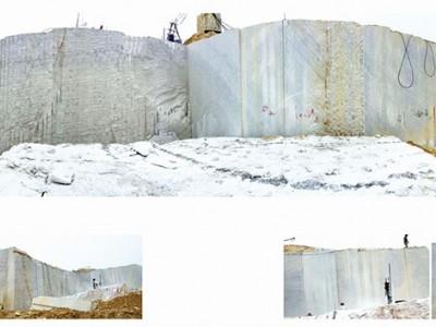 广西白大理石荒料 自有矿山 石立方石业