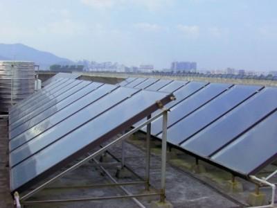 广西专业热水工程 专业安装太阳能 空气能 太阳能平板批发