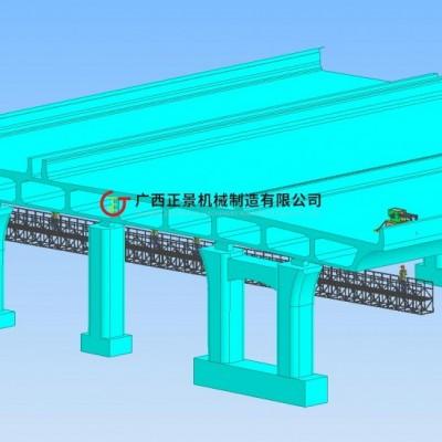 桥墩检修平台 高速公路检修车 桥梁维修吊篮 桥梁维护车