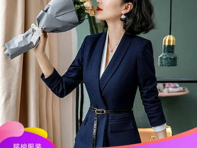 优质时尚新款商务女士套装 现货直销 职业西装定制
