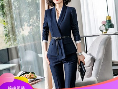 广西服装定制 高端女士商务套装 量体定制 时尚西装套装