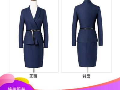 厂家直销2020新款女士商务套装 收腰设计 白领职业套装定制