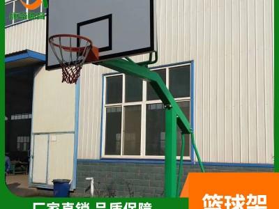 篮球架生产厂家 运动健身器材 移动式户外学校训练标准室外篮球架批发