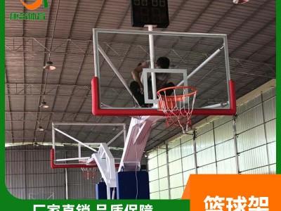 室外仿液压篮球架 移动式篮球架厂家 户外标准成人篮球架价格