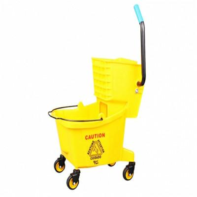 广西清洁工具 清洁剂 单桶榨水车价格 单桶榨水车批发