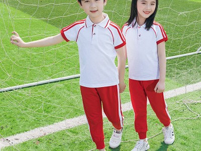 南宁校服定制  2020夏装童装幼儿园园服小学生校服班服定制儿童英伦风男女童套装