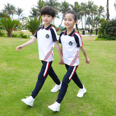 广西校服定制 幼儿园园服夏装新款 小学生校服运动服儿童班服定制