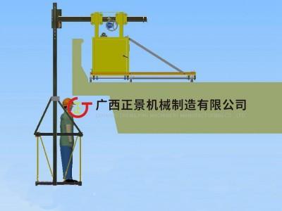 桥梁腹板安装泄水管施工设备