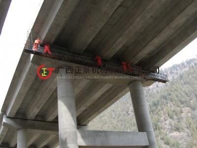 桥梁检查车平台 桥梁维修加固吊篮平台