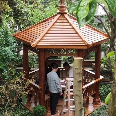 桂林菠萝格防腐木 领景 防腐木地板 质量保证