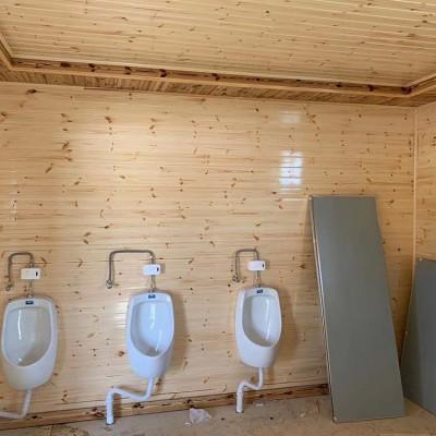 广西木屋公厕 领景 移动木屋公共厕所 品质高