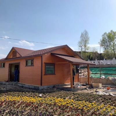贵港木结构生态公厕 领景 优质木屋厕所批发