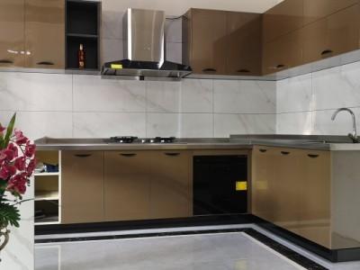 桂林2020爆款不锈钢橱柜 适合小区家庭各户型组装整体橱柜