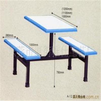 学校饭堂餐桌椅加工厂家,四人位餐桌椅价格