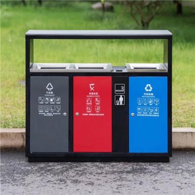小区240L塑料垃圾桶_分类塑料垃圾桶