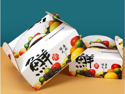 南宁通用水果开窗彩盒纸箱定制  纸箱批发 专业定制 价格实惠