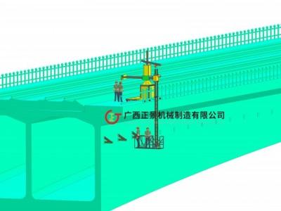 桥梁侧面安装泄水管施工设备
