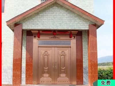 金大吉工厂加工定制高级别墅大门 依据设计风格配对颜色 交货期快