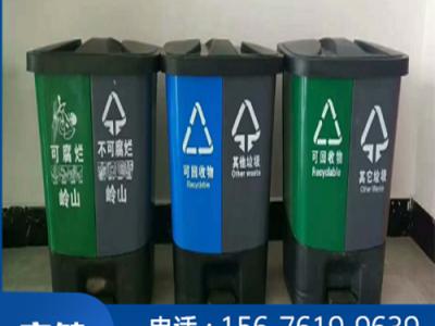 河池工厂直销分类垃圾桶_塑料垃圾桶批发