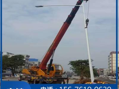 南宁农村道路太阳能灯杆_6米灯杆制造商