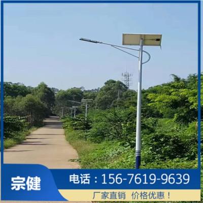 农村太阳能灯杆_6米街道太阳能灯杆