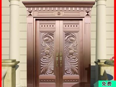 桂林金大吉工厂供应双开真铜大门 款式尺寸都支持定做 交货速度快