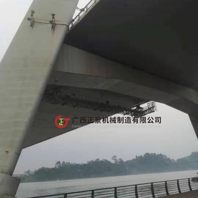 钢桁架桥梁检查小车_检修平台_厂家