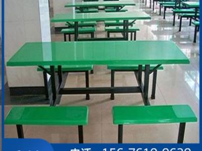 柳州饭堂就餐餐桌椅工厂_条凳餐桌椅批发