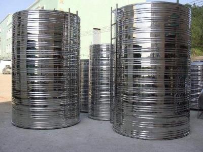 不锈钢水箱厂 圆柱形不锈钢水箱  桂和生产  易清洁,耐酸碱
