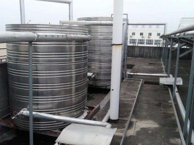 南宁不锈钢水箱定制 圆柱形水箱  桂和出品