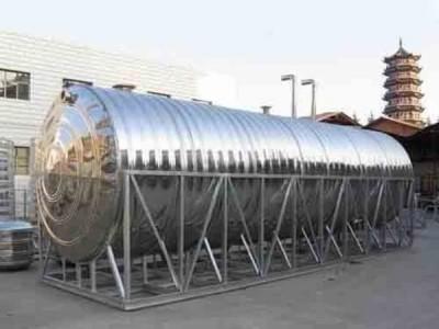 南宁不锈钢水箱厂 圆柱形水箱 桂和制品 可定制